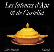Les faïences d'Apt et du Castellet par Marc Dumas