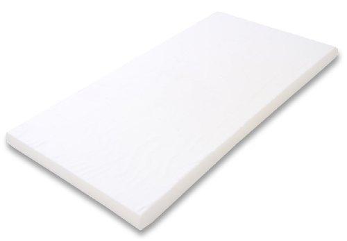 Best For Kids Kinderbettmatratze Babymatratze 60x120 cm Kinder-Rollmatratze (Weiß)