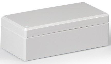 ABS Industriegehäuse Klemmkasten IP66 (LBH 80x160x56 mm, Deckel grau)