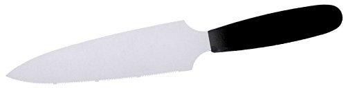 Couteau à gâteau avec manche ABS, zweischneidig, une page avec scie, 5 cm Largeur lame, qualité standard/Longueur totale : 29 cm | erk