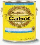 Cabot Stains 1601 Oil Decking Stain Alkyd Base Solid with