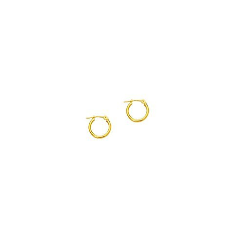 10k-yellow-gold-polish-finish-2mm-round-tube-hoop-earring-with-click-top-clasp-by-diamond-sphere