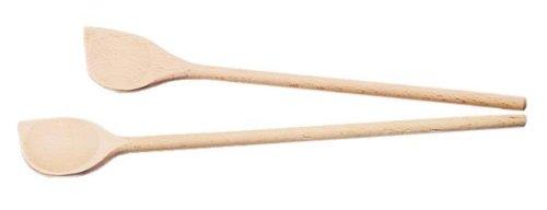 Kesper 698330 Spitzmuschellöffel, Holz, 30 cm, beige