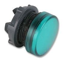 PILOT LIGHT HEAD, LED, GREEN ZB5AV033 By SCHNEIDER ELECTRIC / TELEMECANIQUE -