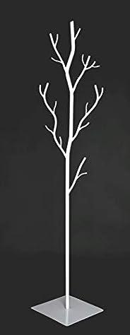 Generico Appendiabiti da Terra in Ferro BATTUTO ATTACCAPANNI Albero Salice Bianco