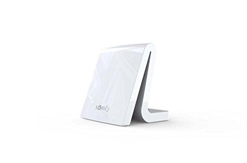Somfy 2401354 TaHoma Box f uumlr vernetztes Haus, Wei&ampszlig, Weiß