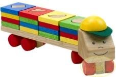 Voila - Tren con Juego para clasificar Formas