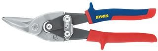 AVIATION SNIPS, LEFT & STRAIGHT 10504309N By IRWIN INDUSTRIAL TOOL - Tools Aviation Snips