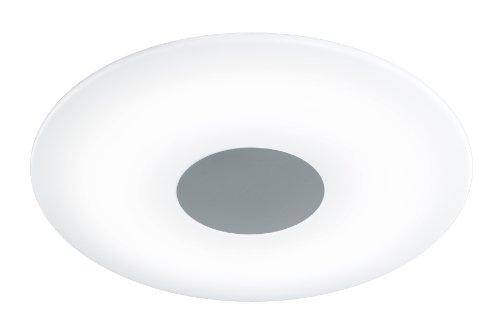 WOFI Deckenleuchte Sila 1-flammig, nickel-matt, Ø ca. 60 cm, Farbtemperatur 4 Stufen 9350.01.64.0000 -