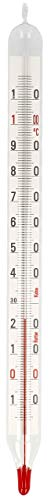 e Milch Thermometer Glas Milchthermometer 20 cm Käsethermometer Analog 2637 ()