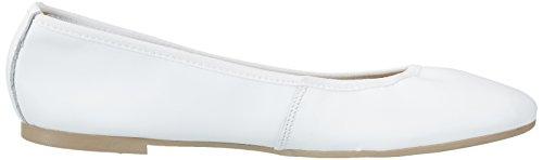 Tamaris Damen 22128 Geschlossene Ballerinas Weiß (White 100)
