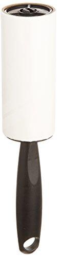 WENKO 4820221100 Kleiderrolle - 10 Blätter, leistungsstark, Kunststoff - Polypropylen, 4 x 22 x 4 cm, Schwarz
