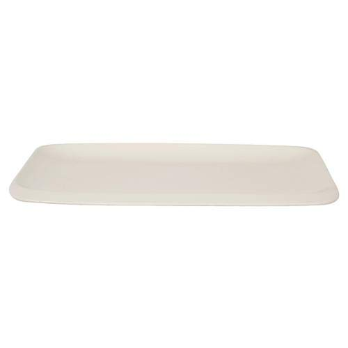 Tognana Infinity-Plato Rectangular 23,5 x 40 cm, Color Blanco