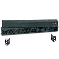 APC Basic Rack-Mount PDU Unité de distribution d'alimentation ( montage en rack ) CA 208/230 V 12 connecteur(s) de sortie