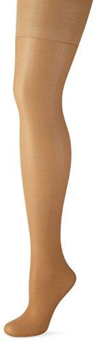 Nur Die Damen Schöne Kurven Strumpfhose, 20 Den, Braun (Amber 230), 48 (Herstellergröße: 44-48=L) (Nur Comfort-strumpfhose)