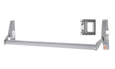Crossbar-panic Exit Device (C.R. LAURENCE 311095RS4628 CRL Satin Aluminum 48 Jackson 10 Series Right Hand Reverse Bevel Crossbar Rim Panic Exit Device, S-Type Strike by C.R. Laurence)
