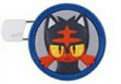 Preisvergleich Produktbild Pokemon Sun & Moon Round Brooch Pin Badge~Nyabby Litten Flamiau