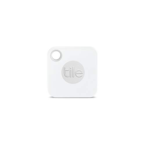0f08894b1 Tile Mate with Replaceable Battery - White Slate Grey