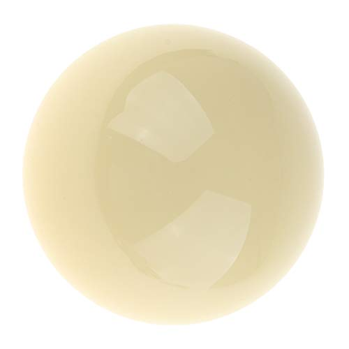 CUTICATE Billard Kugel Weiß 52mm Billardkugel Spielball