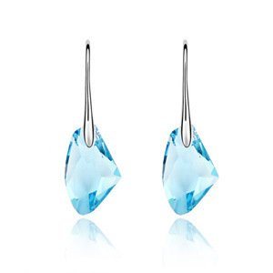 orecchini lunghi orecchini gioielli di moda Le nuove donne di fascia alta compatte , blue