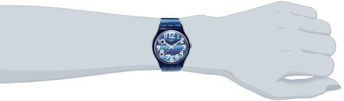 Swatch Unisex-Uhr Analog Quarz mit Plastikarmband – GN237 - 3