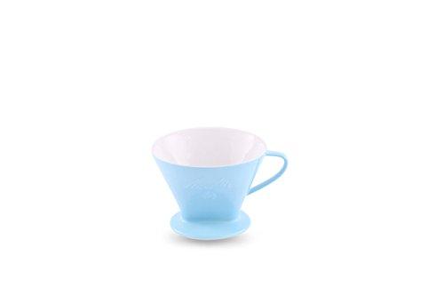 Friesland Porzellan Melitta Kaffeefilter 1x4 Pastellblau