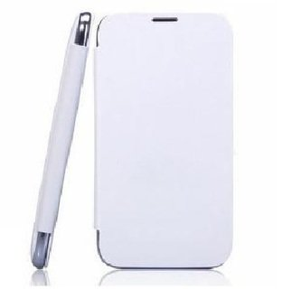 Nokia Lumia 520 Flip Cover (White) By Vegus  available at amazon for Rs.149