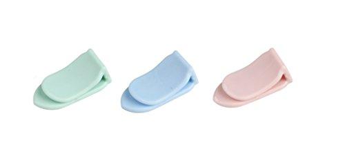 Dr. Oetker Mini-Tütenclip,  (Farbe: Rosa, Hellgrün, Hellblau), Menge: 20 Stück