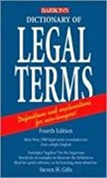 Dictionary of Legal Terms: A Simplified Guide to the Language of Law