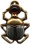 Scarab for Courage and Protection - Amulet Necklace - Jewels of Atum-Ra - Ancient Egypt Collection