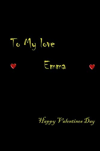 Paperback notebook Valentine's Day gifts ideas for girlfriend lovely Emma
