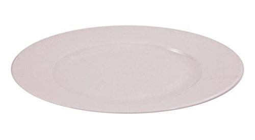 Teller flach Menüteller Speiseteller Weiss 26 cm 6 Stück Set