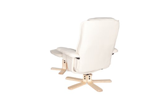 Amstyle Comfort Relaxsessel mit Hocker - 14