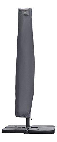 Sekey® Schutzhülle für Ampelschirm,Abdeckhauben für Sonnenschirm,grau