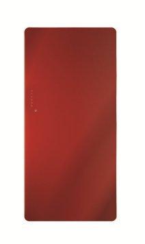Radiatore Design in vetro modello: eyebeam-elettricamente ,1500�Watt, Rosso