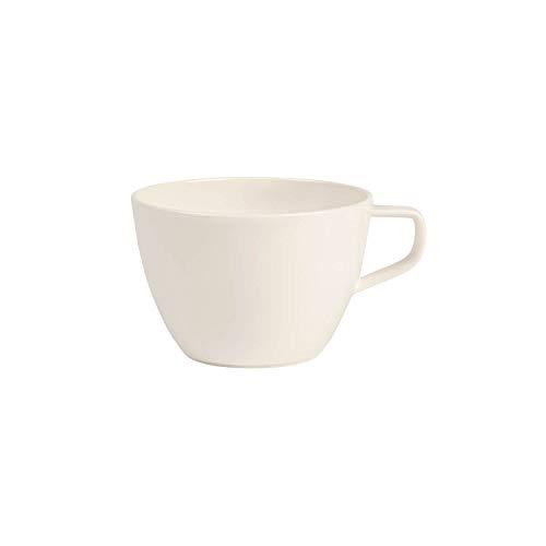 Villeroy & Boch Artesano Original Café au Lait-Tasse, 400 ml, Höhe: 7,1 cm, Premium Porzellan, Weiß Au Lait-set