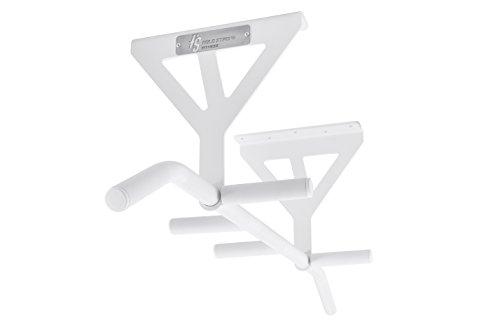 HOLD STRONG Fitness Klimmzugstange 6 Griffweiten zur Deckemontage/Profiqualität und Studiozulassung nach EN 957 / HS-K-D6W