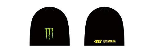 Gorro Valentino Rossi Monster Energy Sp17 Sponsor Negro (Default , Negro)