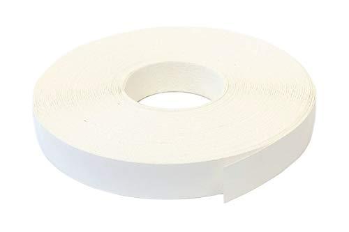 Kantenumleimer Melamin 22mm x 50m mit Schmelzkleber in weiss glatt matt Dekor