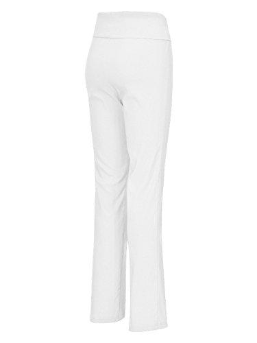 Hose Zauberhose® Damen von Mocca by J.L. in Weiß Weiß