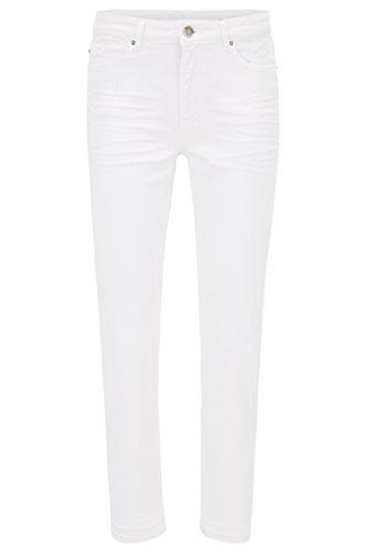 BOSS Jeans Indiana für Damen in Weiß, 30 (Weiße Jeans, Hugo Boss)