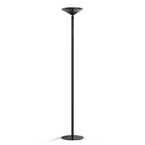 Stehlampe LED 30W Avantica Floor Lamp/ LED Standleuchte Bodenlampe( 0 Verzögerung für Wandschalter,5500K Tageslicht, Nicht Warmes Licht,30 Minuten Timer,5 Helligkeitsstufen,4200 Lumen,Touch-Bedienung)