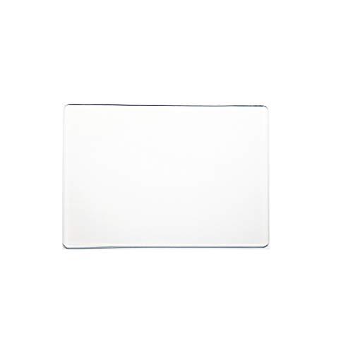 Zerama 3mm weiße rechteckige Acryl Schneidebrett Maschine Präge Hnadcrafts Herstellung Zubehör