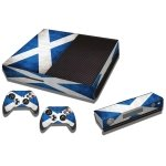 RISHIL WORLD Scottish Flag Pattern Decal Stickers for Xbox One Game Console