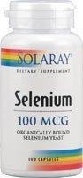 Solaray - Selenium, 100 mcg, 100 capsules by Solaray