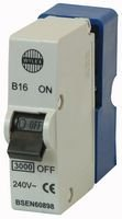 Best Price Square 16 AMP PLUG IN CIRCUIT BREAKER BPSCA SFB16 - PL11756 By WYLEX