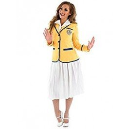 Hi De Hi Holiday Camp Hostess Costume for Women with jacket and long skirt - S to XXXL