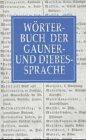 Wörterbuch der Gauner- und Diebessprache