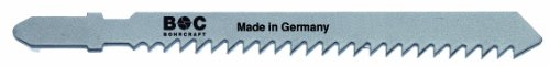 Bohrcraft Stichsägen CV, Zähne geschränkt, ZT 3 x 75 mm Länge in 5-er SB-Karte, 1 Stück, 19611600001