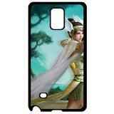 7933977ZA582680690NOTE4case Fun Winged Elf Archer dura della custodia cover per Apple Samsung Galaxy Note 4